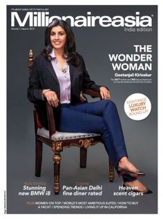 Millionaire Asia India Magazine- What's in? Read story of 'THE WONDER WOMAN' Geetanjali Kirloskar, The 24/7 mother and 365 day entrepreneur on how she balance life and hte numbers. Subscribe Now--> http://bookmymagazine.com/millionaire-asia-india-magazine?utm_content=bufferfe2ca&utm_medium=social&utm_source=pinterest.com&utm_campaign=buffer #millionaire
