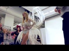 ▶ Behind the 2013 Victoria's Secret Fashion Show Trends: Snow Angels - YouTube