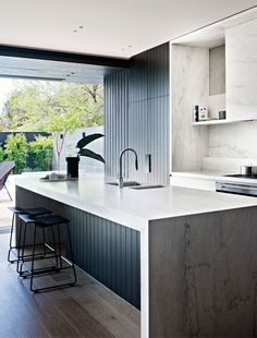 COCOON modern kitchen design inspiration bycocoon.com | interior design | inox stainless steel kitchen taps | kitchen design | project design & renovations | RVS design keukenkranen | Dutch Designer Brand COCOON