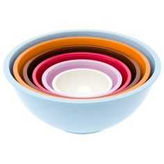 I pinned this 6 Piece Retro Bowl Set from the pt by Present Time event at Joss & Main!