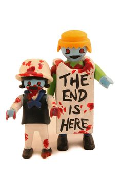 Zombie Playmobil Figures: One-of-a-kind toys from Zombiemonkie.com