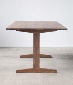 Walnut Trestle Table - Dining. $1,375.00, via Etsy.