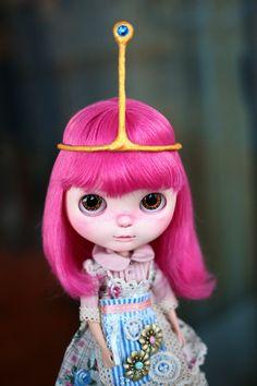 Muñeca Blythe personalizados--burbujas