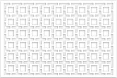 Acurio Lattice Retro Squares Outdoor Decor Panel Screen, White, 32 x 48 x Outdoor Screens, Privacy Walls, Outdoor Living, Outdoor Decor, Back Patio, Panel, Lawn And Garden, Squares, Retro Decorating