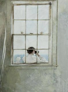 It's a kind of magic... — Andrew Wyeth    Starfish, 1986