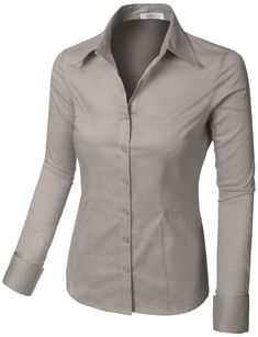 womens button down shirts, womens lightweight shirts , long sleeve shirts women, casual shirts women, womens shirts Outfits For Teens, Trendy Outfits, Cool Outfits, Fashion Outfits, Clothes For Women In 30's, Work Wear, Shirt Style, Button Down Shirt, How To Wear