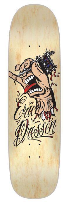 #Skateboard Santa Cruz - Eric Dressen Pro Deck