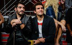 Mario e Federico nel #backstage della quarta puntata di X Factor. #Outfit #ATPCO.  #XF8 #XFactor