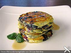 Pancakes mit Blueberries (Rezept mit Bild) von Pumpkin-Pie   Chefkoch.de