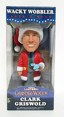 Clark Griswold Lampoons Christmas Vacation Funko Wacky Wobbler Figure Bobblehead   eBay