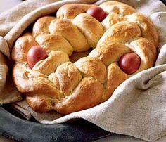 Tsouréki - Pão Doce de Páscoa (Grécia)