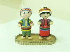 Quilling - Indian Couple