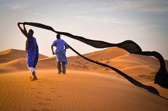 Great colours - small Sahara Morocco
