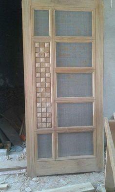 Net wooden door design 70 ideas for 2019 - Holztür Design Front Door Design Wood, Grill Door Design, Double Door Design, Door Gate Design, Room Door Design, Door Design Interior, Wooden Front Doors, Wooden Door Design, Painted Front Doors