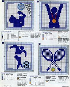 Schema punto croce Sport 6