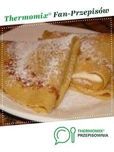 Naleśniki z mascarpone i ananasem :-) jest to przepis stworzony przez użytkownika magi1. Ten przepis na Thermomix<sup>®</sup> znajdziesz w kategorii Inne dania główne na www.przepisownia.pl, społeczności Thermomix<sup>®</sup>. French Toast, Food And Drink, Pudding, Cooking, Breakfast, Ethnic Recipes, Mascarpone, Pineapple, Kitchens