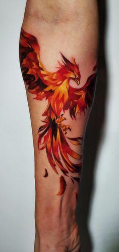 Rising Phoenix Tattoo, Phoenix Tattoo For Men, Small Phoenix Tattoos, Phoenix Tattoo Sleeve, Watercolor Phoenix Tattoo, Tribal Phoenix Tattoo, Phoenix Tattoo Feminine, Feminine Tattoos, Unique Tattoos