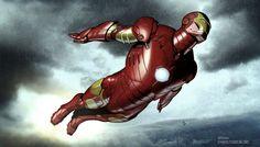 Iron Man byAdi Granov. - Living life one comic book at a time.