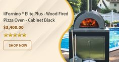 Perfect Wood Fired Pizza Oven for Home and Restaurants.
