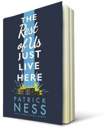 The Rest of Us Just Live Here by Patrick Ness in the Kids' Book Club at Eason