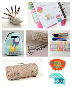 Some of the coolest school supplies for kids on Etsy: And how to get cash back on the purchases now!