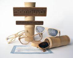 Ma vie en rose: Bambuya, gafas de diseño ecológico