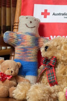 Craft Ministry: Red Cross Trauma Teddies Knitting Pinterest Crafts, Red...