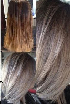How to get ash blonde hair at home biibiibeauty tutorial brown to ash blonde ombre solutioingenieria Choice Image