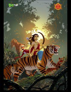 Ayyappa in tiger Shiva Art, Ganesha Art, Hindu Art, Lord Murugan Wallpapers, Lord Vishnu Wallpapers, Lord Ganesha Paintings, Lord Shiva Painting, Hindu Worship, Wallpaper Images Hd