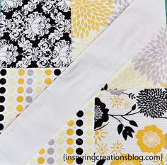 Inspiring Creations: 4-Patch Slice-Free Quilt Block Tutorial