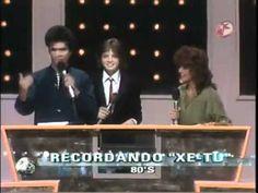 XeTu en los 80s con Luis Miguel