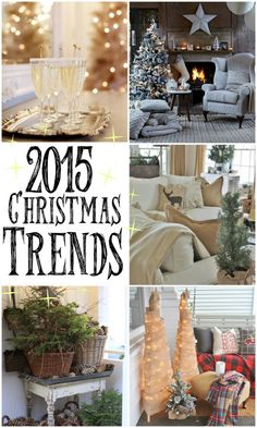 The top 10 Christmas Decorating Trends for 2015!
