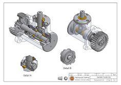 วิจิตร ชัยมงคลมณี : Wijit Chaimongkonmanee: ตัวอย่างแบบงานเขียนแบบ Cad Computer, Youtube Drawing, Isometric Drawing, Autodesk Inventor, 3d Drawings, Mechanical Design, Technical Drawing, Autocad, Engineering