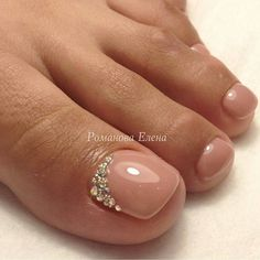 Wedding Nails Toes Pedicures Sparkle 40 Ideas Wedding Nails Toes Pedicures Sparkle 40 Ideas The post Wedding Nails Toes Pedicures Sparkle 40 Ideas appeared first on Berable. Pedicure Designs, Toe Nail Designs, Pedicure Ideas, Nails Design, Feet Nails, My Nails, Nude Nails, Matte Nails, Gorgeous Nails