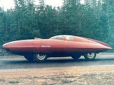 The unusual 105 hp - 110 mph 1951 GAZ Torpedo