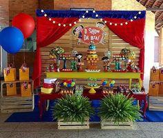 Mais uma festa linda Show da Luna hoje, adorei! Por @bibelotdecor ❤️ #kikidsparty