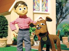 davey & goliath. first thing saturday mornings. our introduction to claymation and we had no idea. great show!