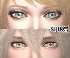 3D Lashes updated at Kijiko via Sims 4 Updates