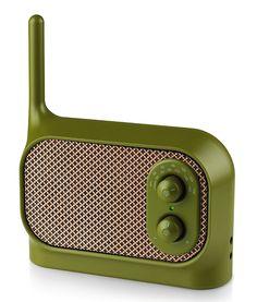 Radio Mezzo verte - Lexon Design - Visuel 1