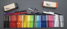 This collection of Lamy colours is like a dream.
