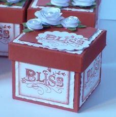 Handmade box.