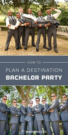 How to Plan a Destination Bachelor Party - From picking a date to figuring out travel plans, here is everything you need to know about destination bachelor party planning on @weddingwire!  {Thirteenth Moon Photography LLC,  William Innes Photography}