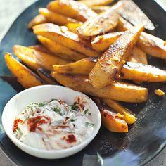 Recept - Aardappel met dip - Allerhande