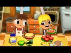 Tomates rellenos - cocina con Telmo y Tula, caricaturas para niños