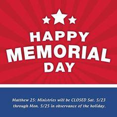 matthews memorial day care