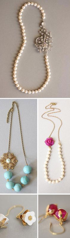 Portobello Love: Pearls and Gold | Plus, Exciting News at EB! | Emmaline Bride | We Heart It