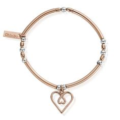 Roodles Sterling Silver Ball Bead Set of 3 Bracelets with Heart Anchor /& Cross Symbolising Love Charms