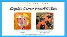 Kids Art Class, Art For Kids, Coyote S, Paul Klee, Peek A Boos, Cat Art, Marketing, Children, Google