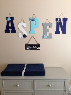 Aspen's nautical nursery Aspen Rae, Nautical Nursery, Boy Or Girl, Home Decor, Decoration Home, Room Decor, Home Interior Design, Home Decoration, Interior Design