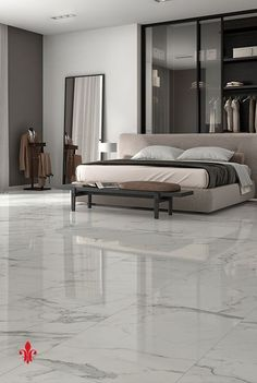 40 Amazing Marble Floor Designs For Home - Hercottage No matter what, everything should look perfect; that's the motto we cling on to. And what is more perfect than these Amazing Marble Floor Designs for Home? Floor Tiles For Home, Bedroom Floor Tiles, House Tiles, Room Tiles, Tile Floor, Floor Design, Tile Design, House Design, Living Room Flooring